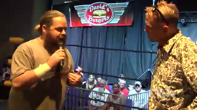 CWA Wrestle Raise 2: #06 - Greg Anthony is NOT HAPPY with Johnny Morton!!