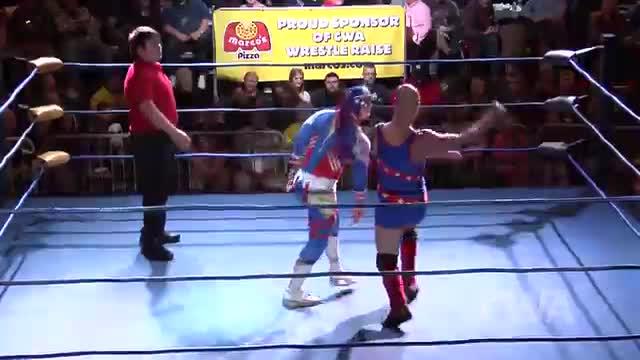CWA Wrestle Raise 4: #01 - Americos vs. Jakob Edwinn