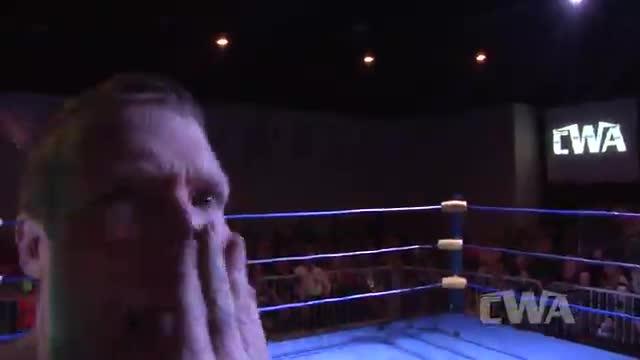 """CWA Wrestle Raise 4: #02  - """"The Golden Boy"""" Greg Anthony vs. Gary """"Roosevelt"""" Gram"""