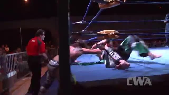 """CWA Wrestle Raise 4: #04 - Delirious vs. """".50 Caliber"""" Barrett Brown"""