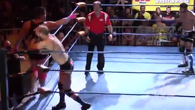 "CWA Wrestle Raise 4: #06- OMG's vs. ""Mr. Saturday Night"" Michael Barry & Matt Boyce"