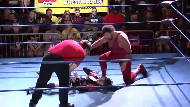 "CWA Wrestle Raise 4: #05 - Matt Riviera vs. Pee Wee Pitts w/ ""Superstar"" Bill Dundee"