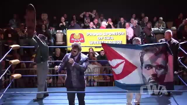 CWA Wrestle Raise 4: #03 - Matt Riviera addresses Jerry Lawler's absence.