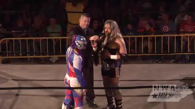 "NWA Cajun Heat 1: #02 - ""The Golden Boy"" Greg Anthony & Americos Confrontation"
