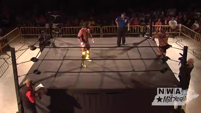 "NWA Cajun Heat 1: #03 - ""Ironman"" Rob Conway vs. Rodney Mack w/ Prof. P"