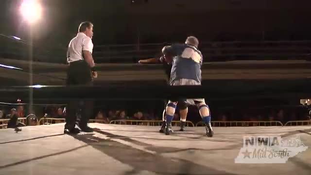 NWA Cajun Heat 1: #04- Stan Sweetan w/ Big Ramp vs. Psycho Mike