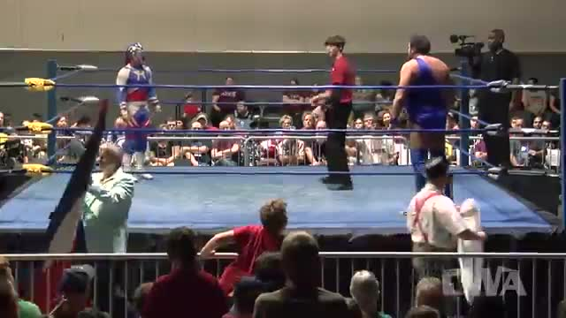 "CWA Wrestle Raise 3: #06 - ""LVR BOY"" Matt Riviera vs. Americos"