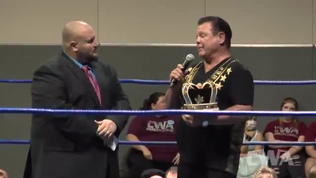 "CWA Wrestle Raise 3: #03 - Jerry ""The King"" Lawler  & Tim Storm In-Ring Segment"