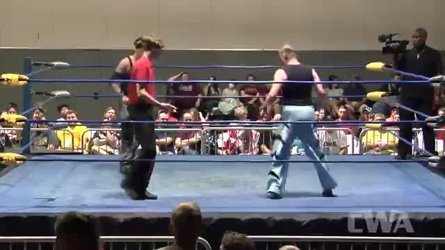 CWA Wrestle Raise 3: #04 - Johnny Morton vs. Morgan Williams