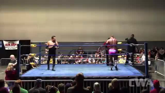 CWA Wrestle Raise 3: #07 - NWA Worlds Hvyweight Title: Jerry Lawler vs. Tim Storm w/ Boyd Bradford