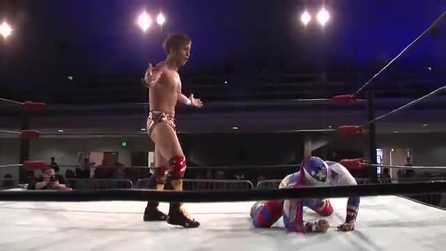 NWA Cajun Heat 2: #01 - Hasegawa vs.  Americos
