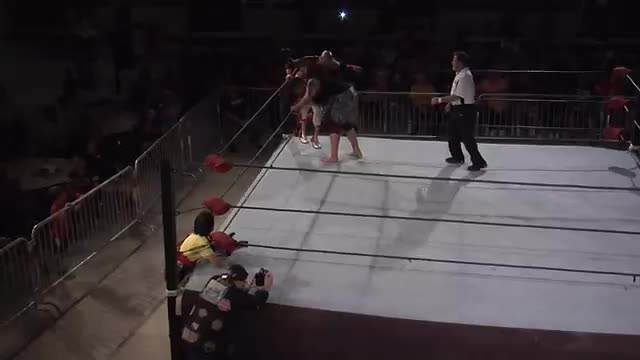 NWA Cajun Heat 2: #06 - NWA North American Title: Mustang Mike vs. Afa, Jr.