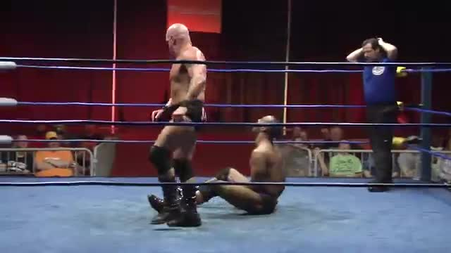 Wrestling at Resorts 2: #03 -  John Saxon w/ Christy Jane  vs. Purple Haze