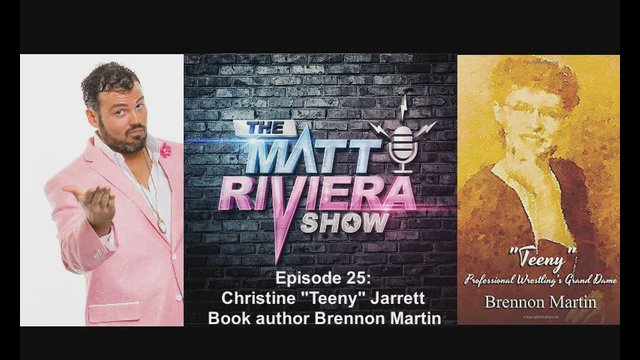 "Ep. 25 - Christine ""Teeny"" Jarrett Book author Brennon Martin - The Matt Riviera Show"