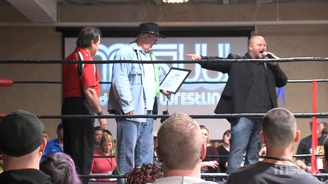 "MSW Event 01: #03 - ""Cowboy"" Bob Orton, Jr. Award Ceremony"