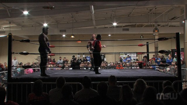 "MSW Event 01: #07 - Tim Storm vs. ""The LVR Boy"" Matt Riviera w/ Ron Ratcatcher"