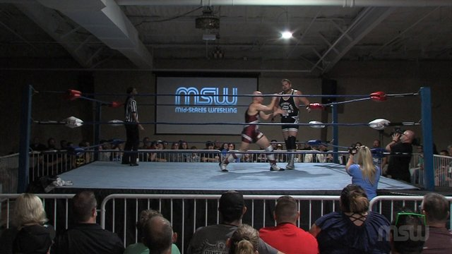 "MSW Event 02: #02 - ""Professor"" Jacob Edwinn vs. ""Mr. Saturday Night"" Michael Barry"