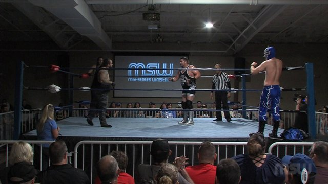 MSW Event 02: #06 - Erron Kane & Nate Winchester vs. Michael Barry & The Blue Bolt