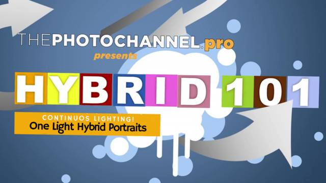 Hybrid 101: One Light Hybrid Portrait