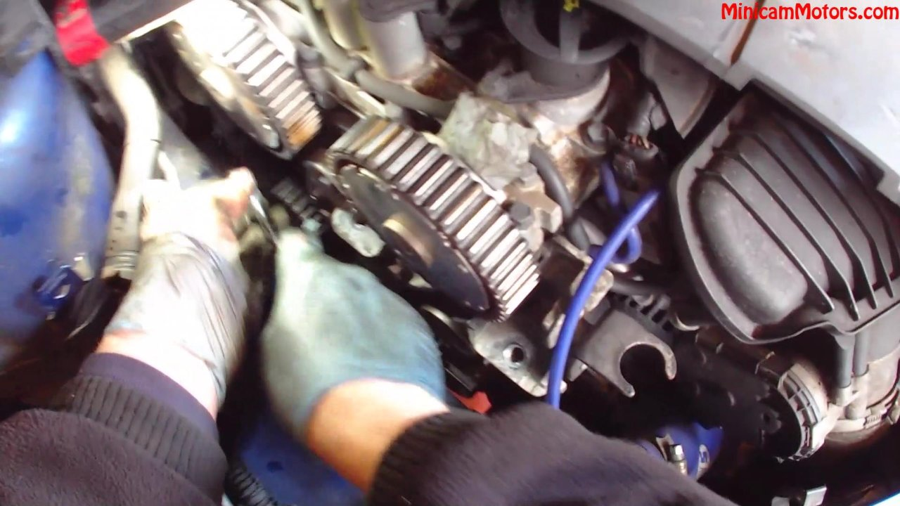 Ford Focus 2 5l St Cambelt And Water Pump Change