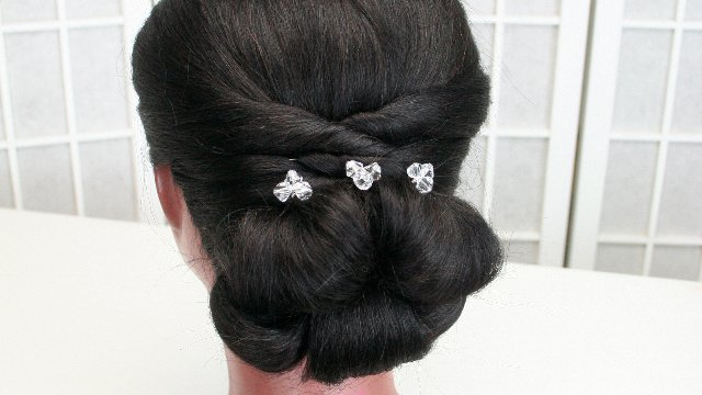 Bridal hair 101 - Lowdo (no curling, no teasing)