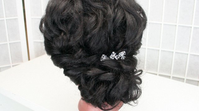 "Bridal hair 101 - Lowdo (5/8"" curling iron, no teasing)"