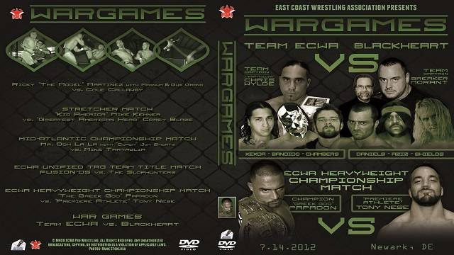 ECWA War Games July 14, 2012