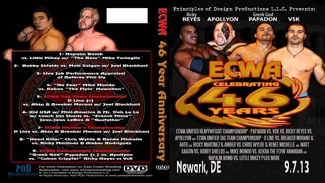 ECWA 46th Anniversary Show September 7, 2013