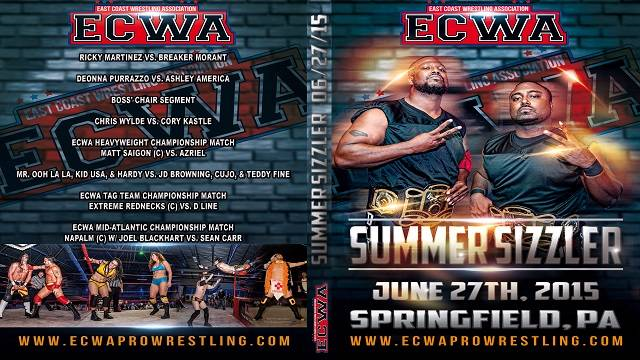 ECWA Summer Sizzler June 27, 2015