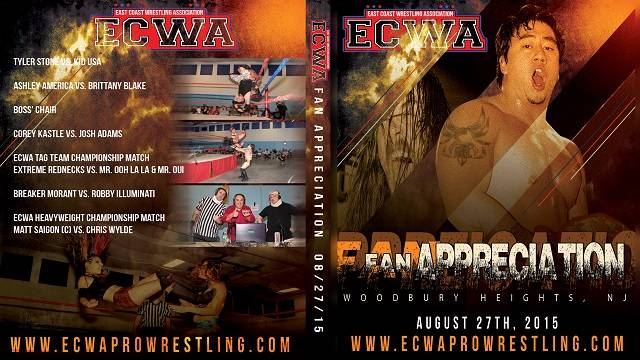 ECWA Fan Appreciation Night August 27, 2015
