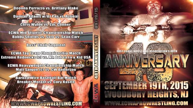 ECWA 48th Anniversary Show September 19, 2015