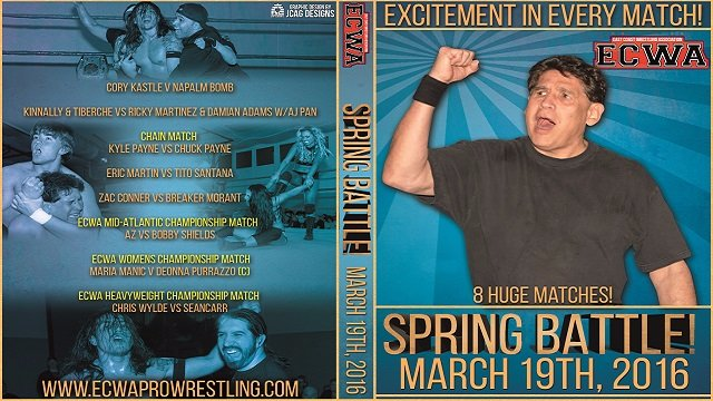 ECWA Spring Battle March 19, 2016
