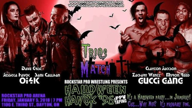 Rockstar Pro Halloween Havok '96 A Three Hour Extravaganza
