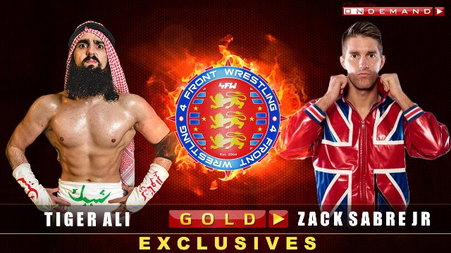 Tiger Ali V Zack Sabre Jr - Kingdom Rising 2014