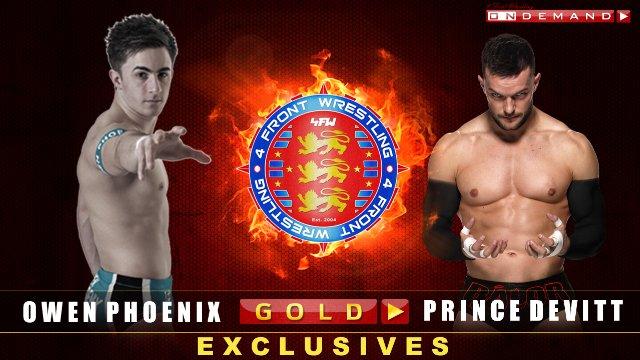 Owen Phoenix V Prince Devitt - WrestleWar 2011