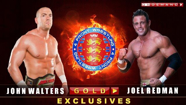 John Walters V Joel Redman - WrestleWar 2011