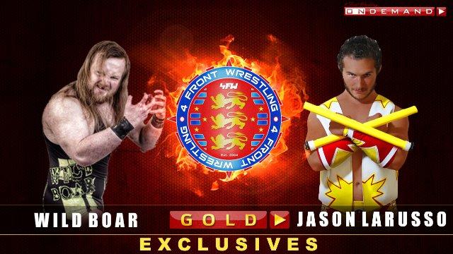 Wild Boar V Jason Larusso - WrestleWar 2011