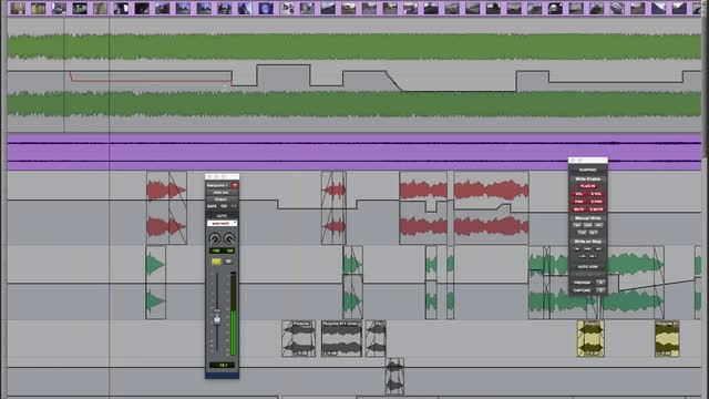 Pro Tools Advanced Automation Part 2