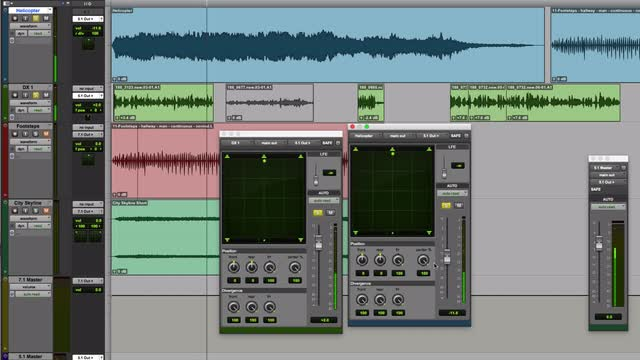 The Pro Tools Surround Panner Part 2