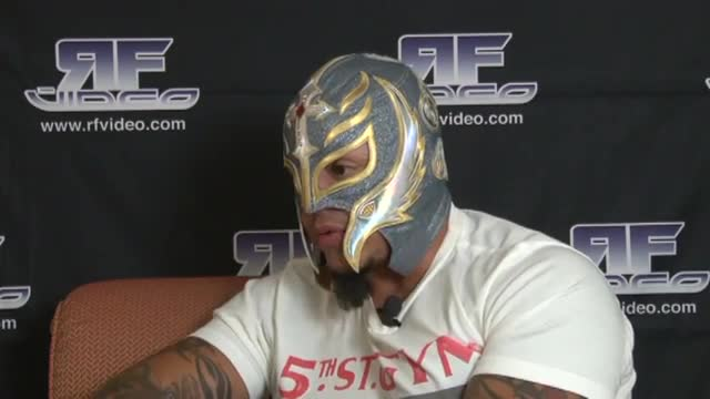 REY MYSTERIO JR 2015 SHOOT INTERVIEW