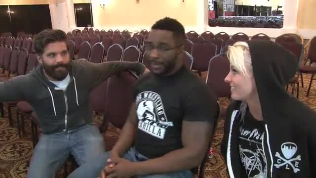 Joey and Candice Wrestlecon Adventure