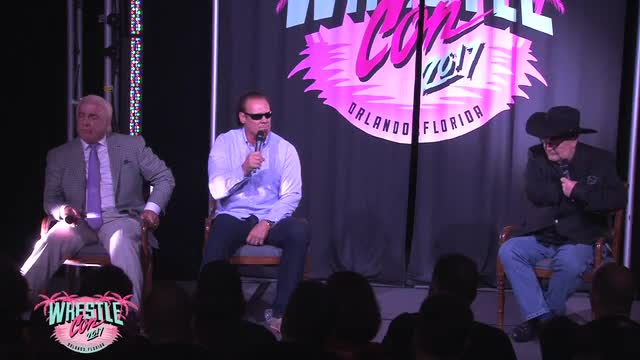 WRESTLECON Q&A WITH RIC FLAIR, STING, & JIM ROSS