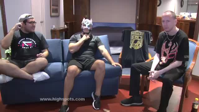 Highspots Goes Lucha: Flamita Shoot Interview (In Spanish W/ Translator)