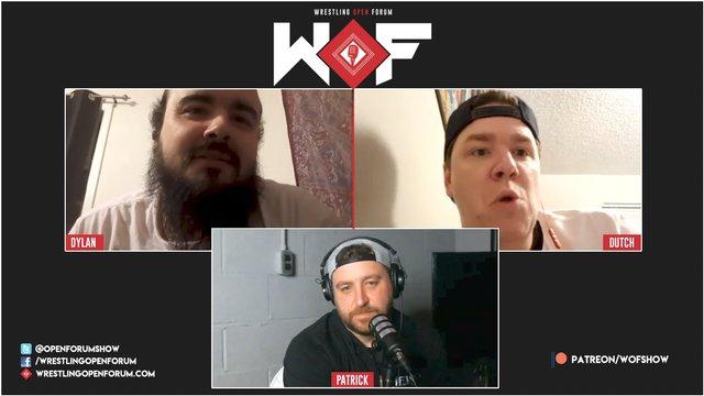 Wrestling Open Forum: 10.8.2020