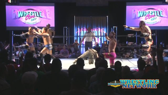 Free Match: Wrestlecon 10 Man- Team Ospreay VS Team Ricochet