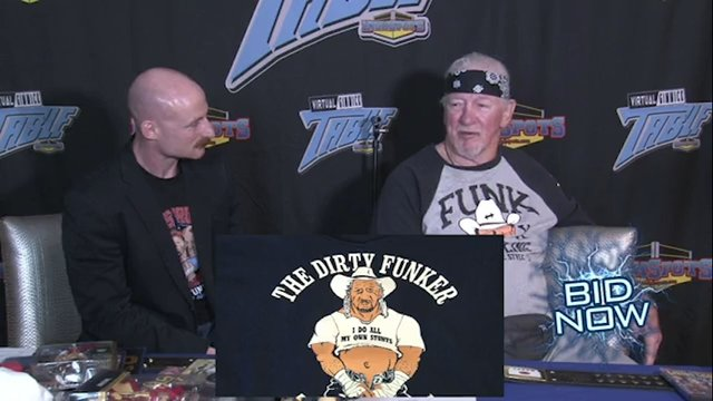 Terry Funk: Virtual Gimmick Table