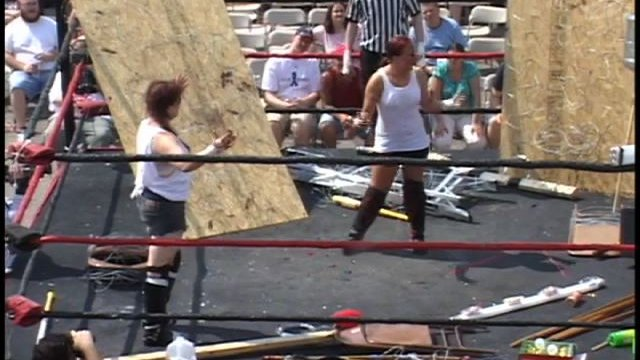 IWA Mid-South - Queen of the Death Matches 2008