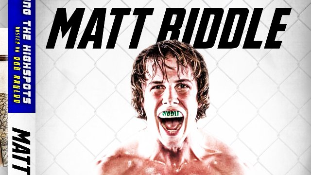 Hitting The Highspots: Matt Riddle