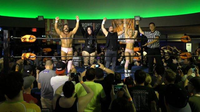 MidnightAfterMania - WrestleCircus vs. Wrestling Revolver (4/3/17)