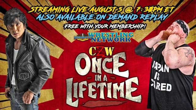 CZW: Once In A Live Time (Live Replay)